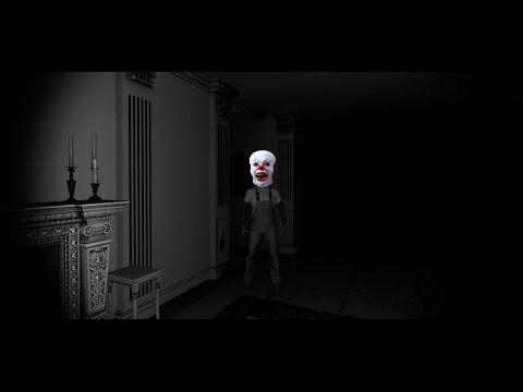 Прохождение инди-хоррора ClownHouse - МЕНЯ ХОТЯТ УБИТЬ КЛОУНЫ!