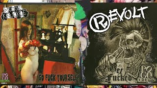 Revolt & Moose Knuckle - SPLIT 2017 (USA Drunk Punx)