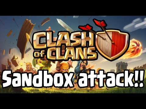 Sandbox Attack En Clash Of Clans