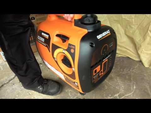 Generac Model # 6866, iQ2000  Setup & First Start How-To Unboxing