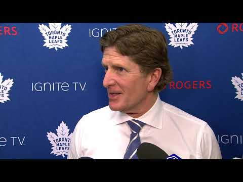Maple Leafs Post-Game: Mike Babcock - November 23, 2018