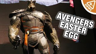 Why this Avengers Infinity War Easter Egg Is Not What We Thought! (Nerdist News w/ Jessica Chobot)