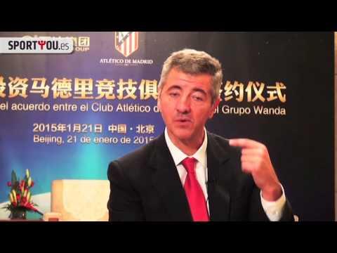La aventura china del Atlético de Madrid