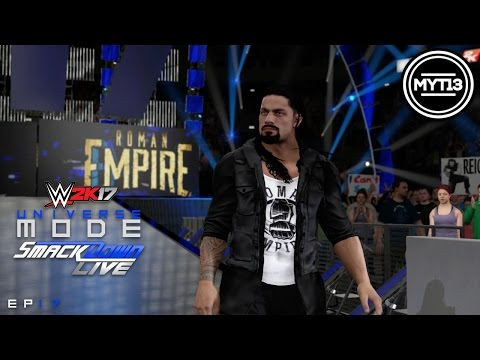 WWE 2K17 - Universe Mode - SmackDown - Ep 17 - Jewel In The Crown