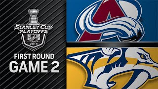 Balanced attack lifts Predators to 5-4 win in Game 2