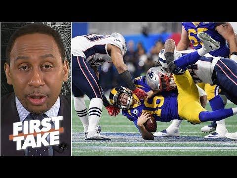 Patriots' Defense Deserved Super Bowl MVP – Stephen A. | First Take