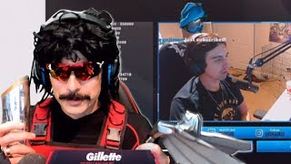 "DrDisRespect Reacts to Shroud saying ""Doc is the Number1 Favorite Streamer on Twitch"" (9/17/18)"