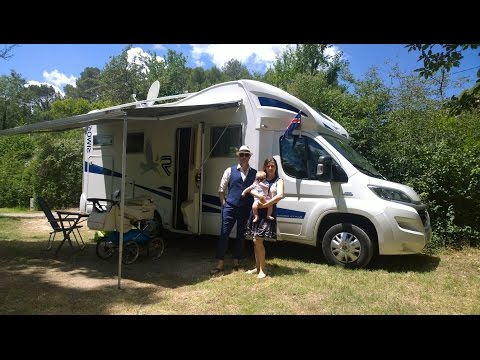 Motorhome vacation in France, Italy and Switzerland & Euro 2016 (very very long driver's version)