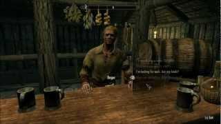 Let's Play Skyrim (Blind), Part 187: Winterhold - The Frozen Hearth & Jarl's Longhouse
