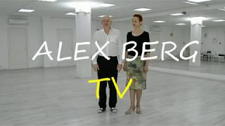 "Урок танго 3# ""Крест и прогулка"" (La cruz y caminita) Alex & Rita"