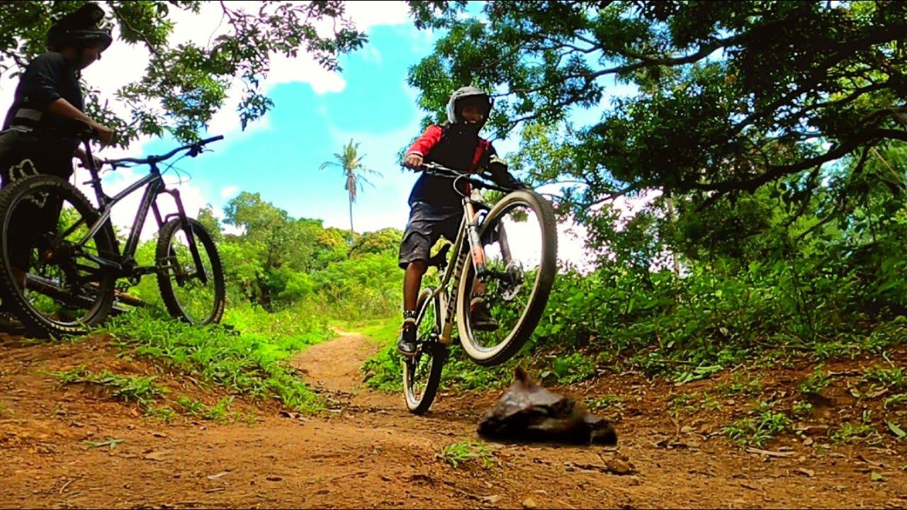 Nag bike ako sa pinaka madaming TAEng bundok (Trail Ride #8)