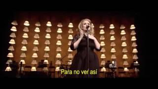 Adele - I Can't Make You Love Me (Live R.A.H. Subtitulada)