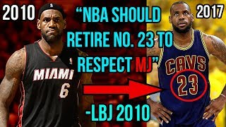 5 Times Lebron LIED To Us ALL