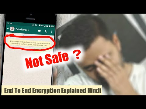WhatsApp Not Safe? |  WhatsApp End To End Encryption Explained Hindi | EFA