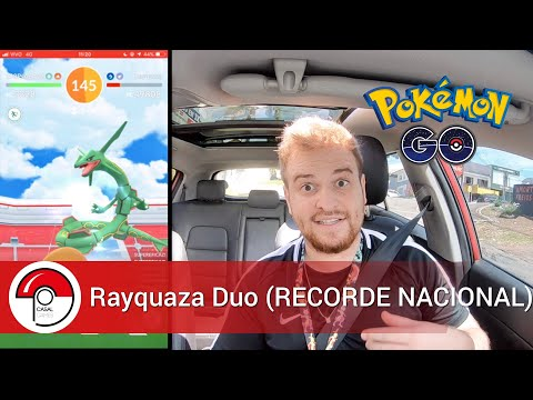 Rayquaza Duo só com Mamoswine (RECORDE NACIONAL) - Pokémon GO thumbnail