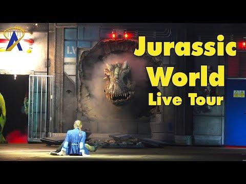 Jurassic World Live Tour Preview