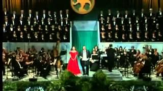 La Traviata Brindisi Luciano Pavarotti and Atzuko 1995