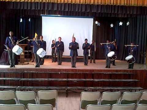 Laerskool die Ruiter Primary orkes Kultuur Uitstalling  1 October 2015 Drummers Culture evening Band