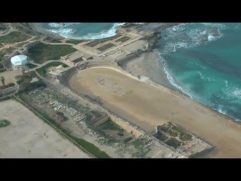 The story of Herod's hippodrome (horse racing stadium) in Caesarea, Israel