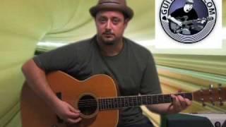 Acoustic Guitar Lesson - Natalie Imbruglia - Torn - Free Online Guitar