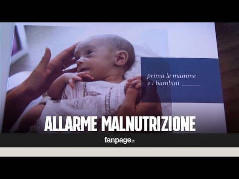Povertà: l'allarme di Piano Terra Onlus sulla malnutrizione nei bambini