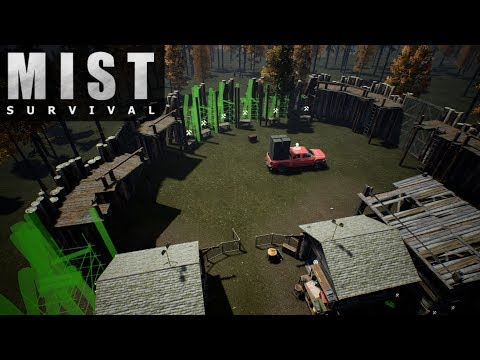 BANDITS, FEAR MY WALL! | Mist Survival | Let's Play Gameplay | S02E16