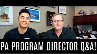 PA Program Director Q&A!