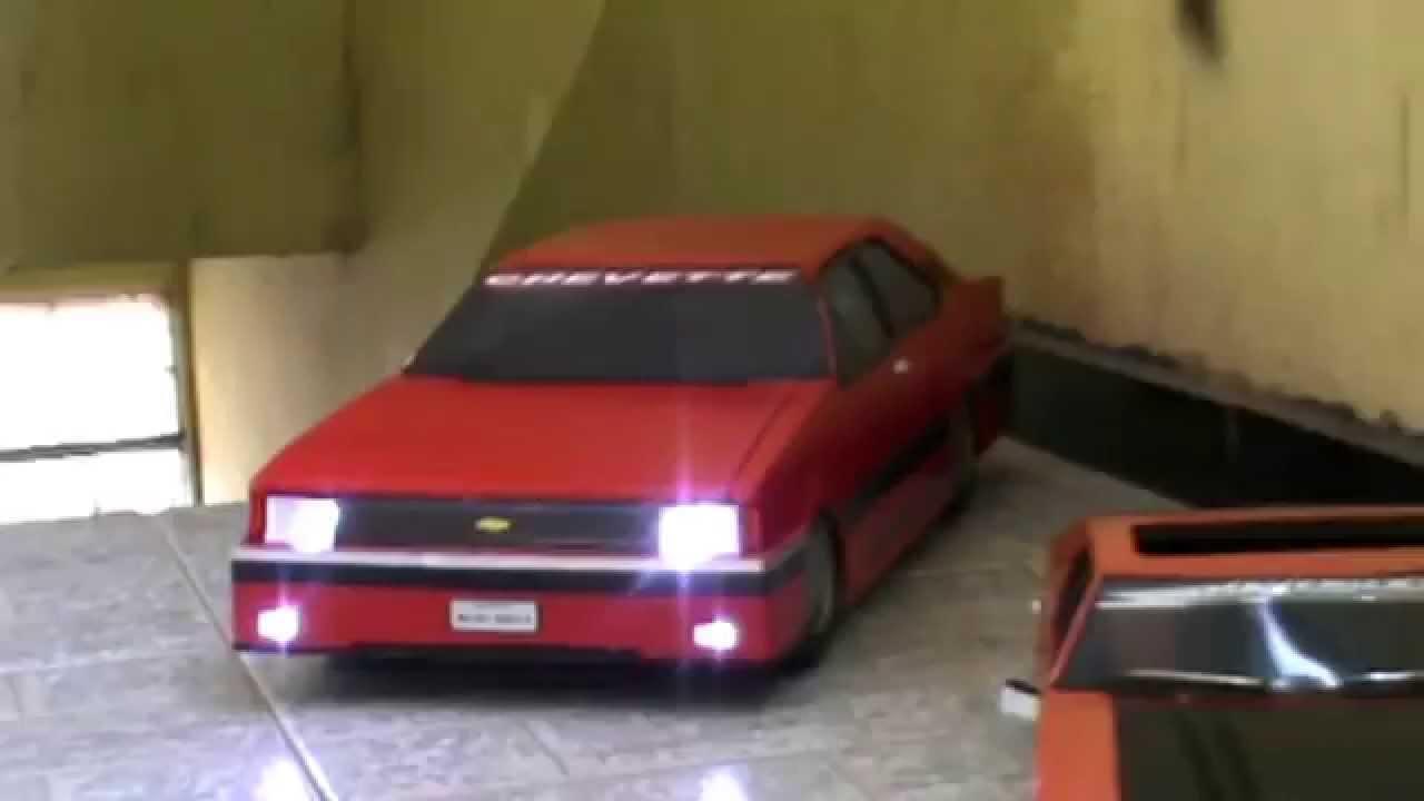 Carros De Papel Panamá Por Adilson Miniaturas Youtube