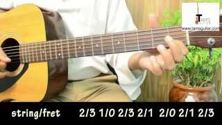 london bridge guitar lesson for beginners n kids|Nursery rhyme