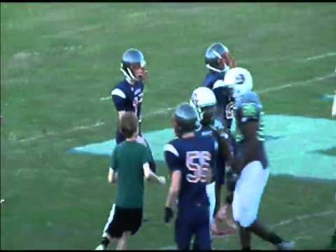 Crest vs  Kings Mountain Middle School Football Championship Game 2015