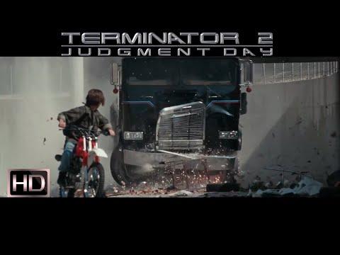 Терминатор 2 - т-800 спасает Джона--[Terminator 2-t-800 Saves John]