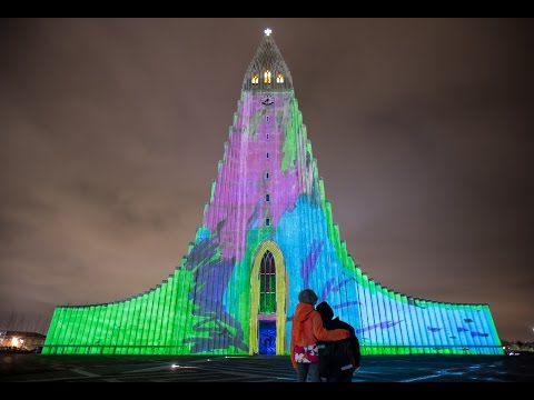 Opening of Reykjavik Winter Lights Festival 2015