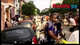 VIDEO : Mobil Ini Hantam Belasan Pesepeda Saat Konvoi