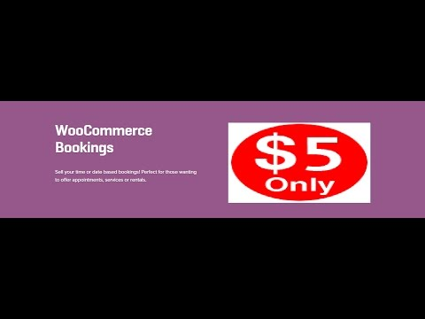 WooCommerce Bookings 1.11.3 Extension