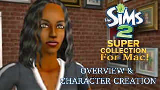 Sims 2 Super Collection for Mac! OVERVIEW!
