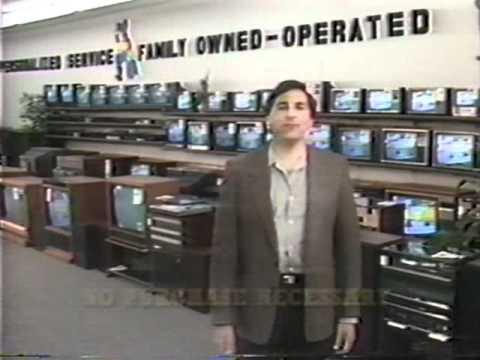 Bar's Television & Appliances (Zenith color TV) commercial 1986