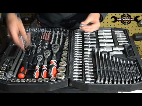 Самая полная комплектация - Обзор набора инструмента YATO 215 предметов YT-3884