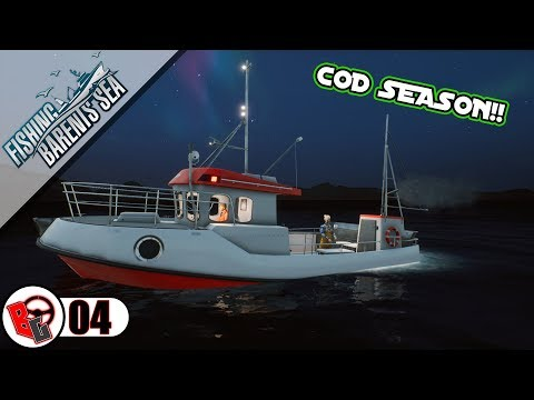 Cod Season - Fishing Barents Sea - Career Episode #4