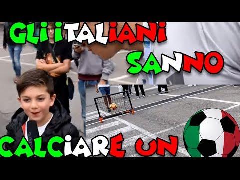 Gli ITALIANI Sanno Calciare Un Pallone? #2 ● Interviste Ignoranti