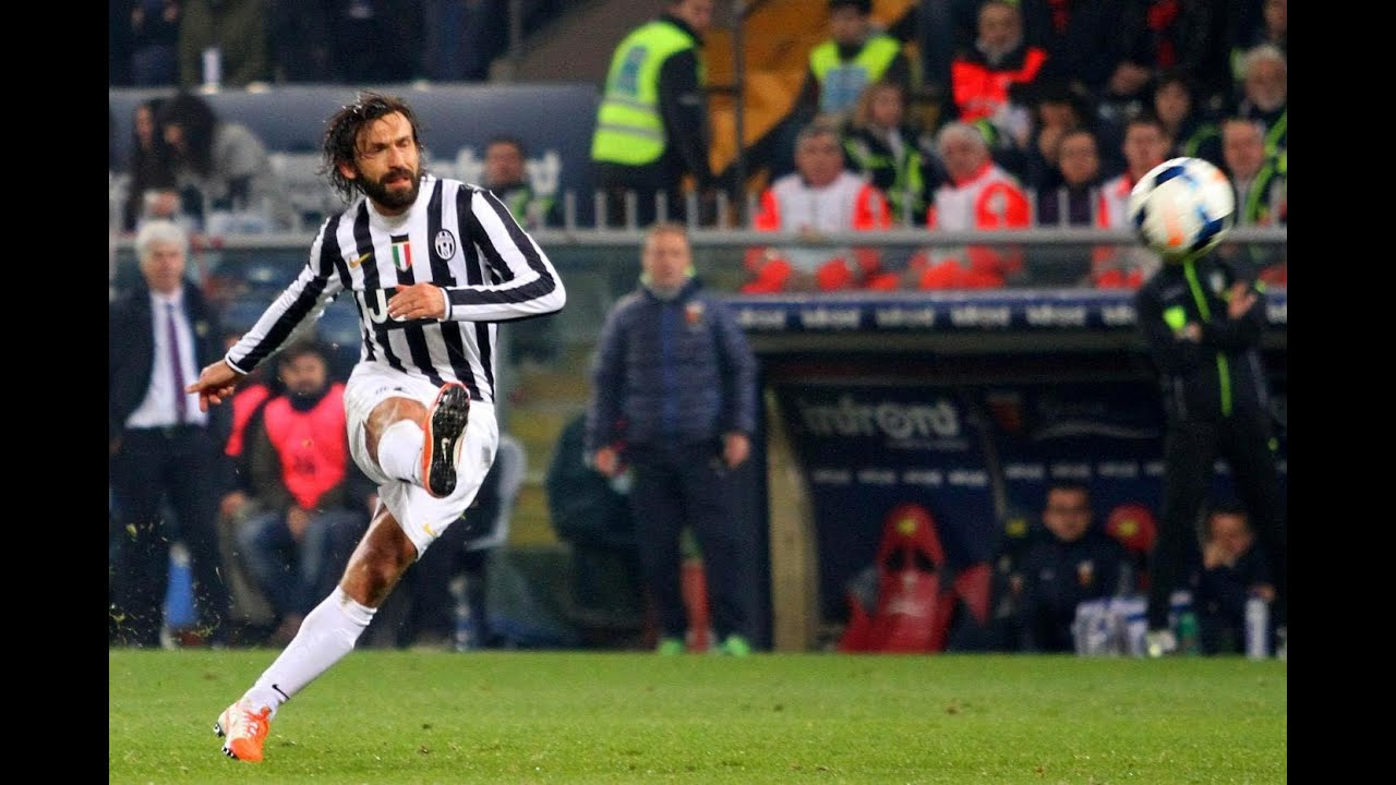 Image result for andrea pirlo free kicks