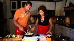 Keittiössä Poppaa, jakso 32: Täytetyt kesäkurpitsat