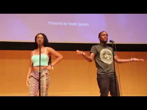 Let Me See Your Phone - MoMo & Malachi - Brave New Voices Semi-Finals 2014