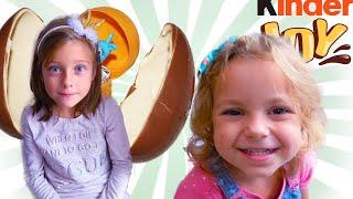 История про вредные сладости от Евы и Лизы (Сборник 2 видео) для детей