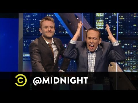 Gilbert Gottfried Is a Picky Eater - @midnight with Chris Hardwick