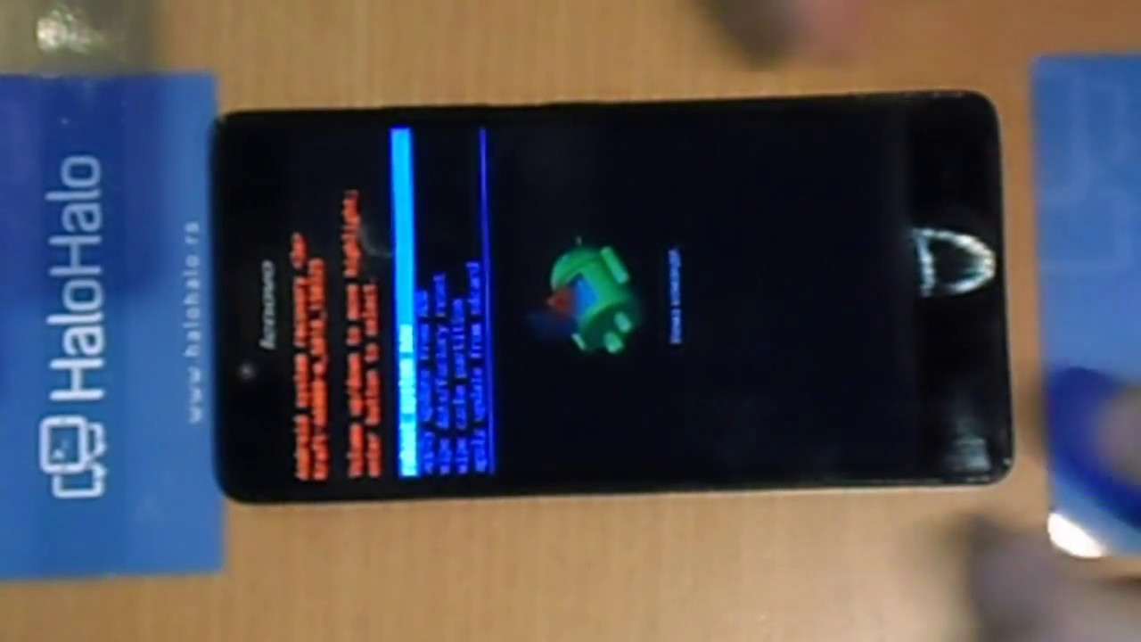 Lenovo A6000 Hard Reset Restore to Factory Settings by Halo, Halo