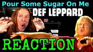 Vocal Coach Reaction To Def Leppard - Pour Some Sugar On Me - Ken Tamplin