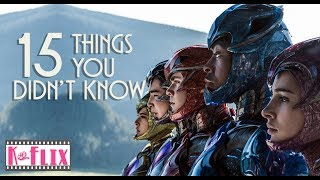 15 Things you didn't know about Power Rangers Movie | Easter Egg | Spoilers