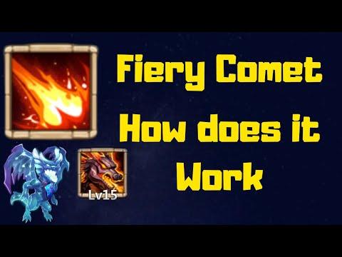 Fiery Comet | How It Works | Lavanica | Skill 15 | Castle Clash