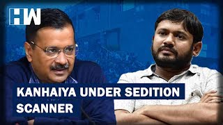 """delhi chief minister arvind kejriwal has given a go-ahead to the special cell of delhi police book former jnusu president kanhaiya kumar under charges of..."