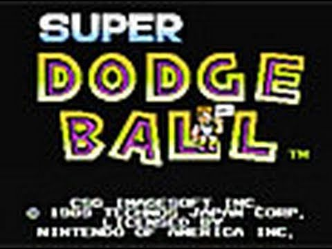 CGR Undertow - SUPER DODGE BALL for NES Video Game Review